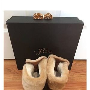 J. Crew Shoes - NWT J.Crew Nordic Wedge Boot Shearling $208-Size 7